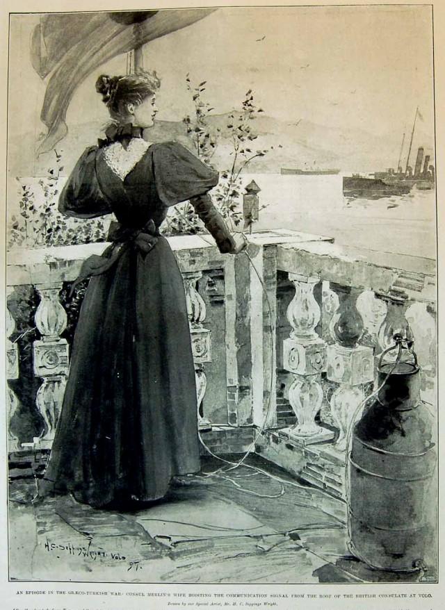 At Volo - Illustrated news - 29 May 1897