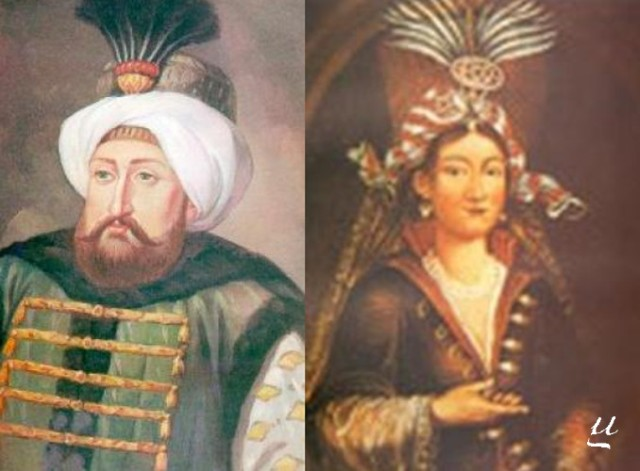 mehmed iv and Hatice Turhan- mother
