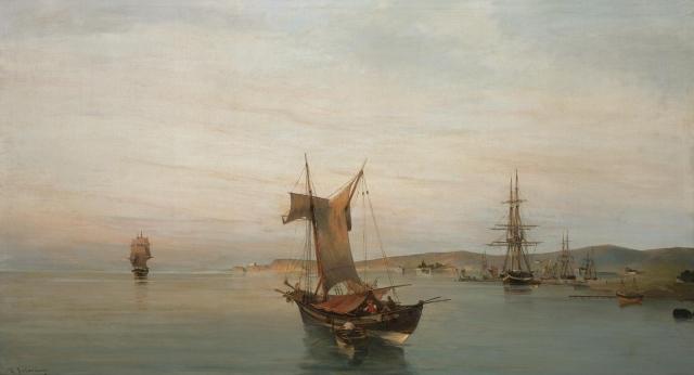 Κατα μήκος της ακτής, Βόλος. Κ. Βολανάκη. πουλήθηκε τον Απρίλιο του 2008 από το Sotheby's για 334.100 αγγλικές λίρες